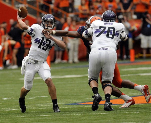 Odds are Trevor Siemian gets the bulk of the snaps on Saturday. Can he lead the 'Cats to a 2-0 start?