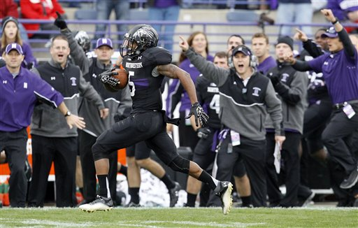 Will the Return of Venric Mark spark the 'Cats to a win over No. 3/4 OSU? (AP Photo/Charles Rex Arbogast)