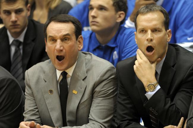 Duke vs. NU (Basketball Syle)