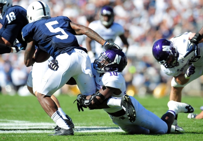 NCAA Football: Northwestern at Penn State