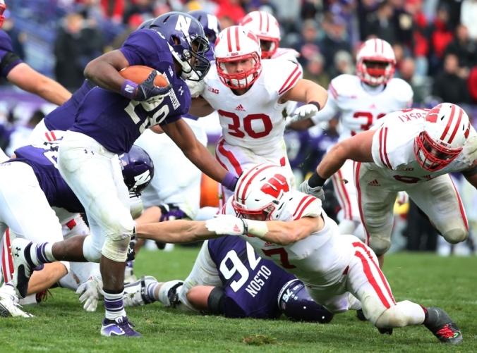 NCAA Football: Wisconsin at Northwestern